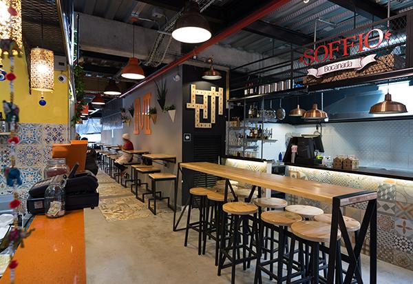 Restaurante Los Patios Proyecto Comercial