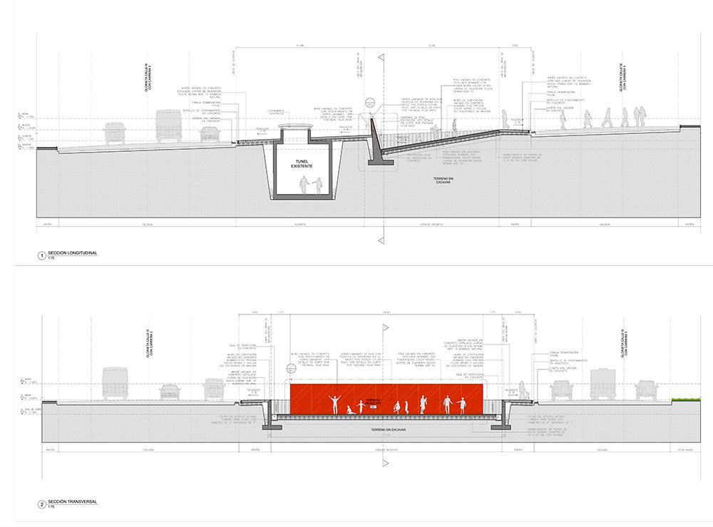 Concurso de arquitectura en Bogotá Descender al Paisaje