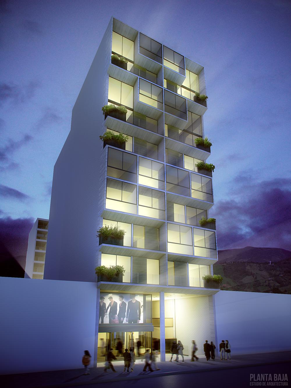 construcción de edificios en Antioquia
