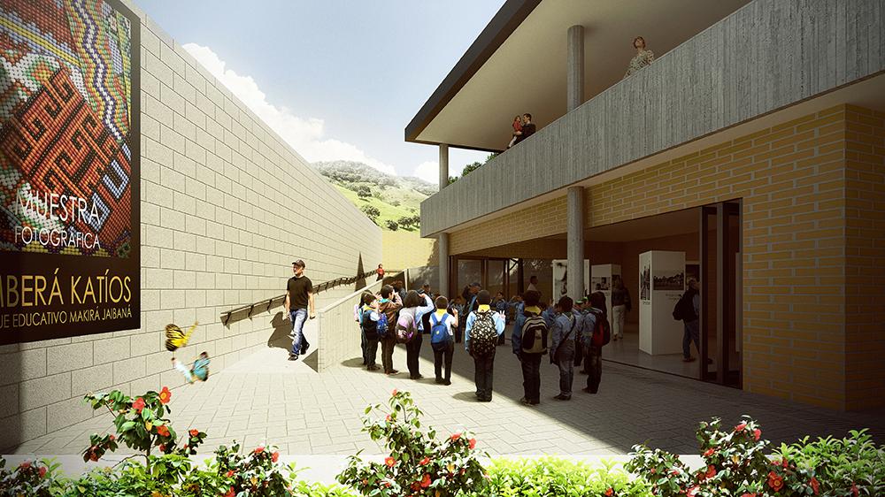 construcción de parques urbanos en Antioquia