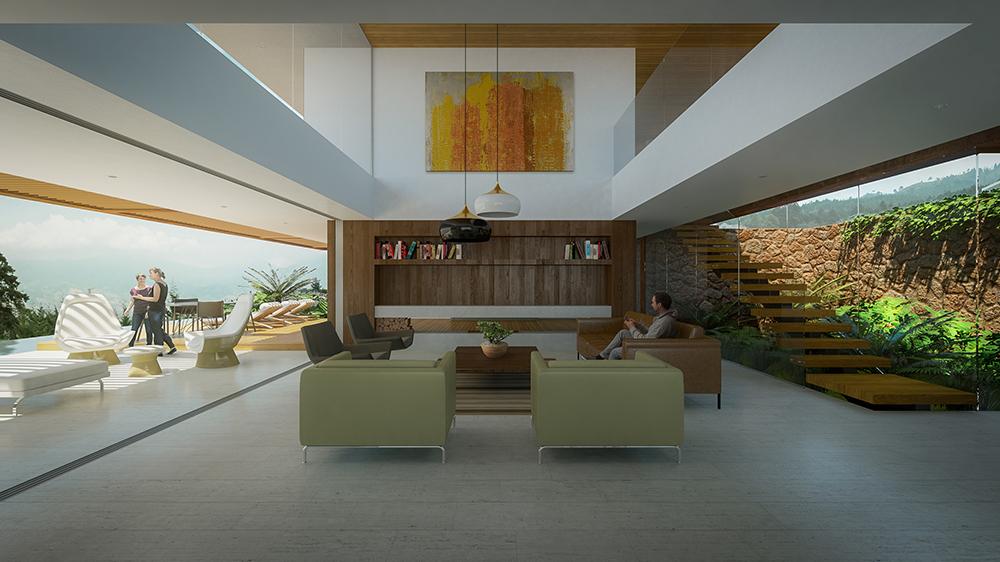 Diseño de interiores comedor