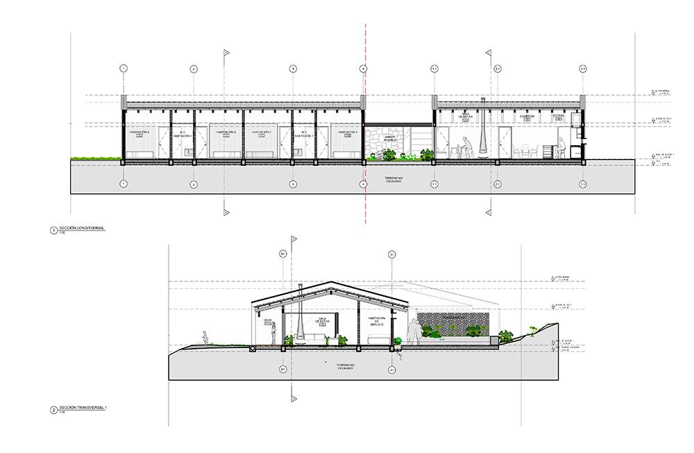 Planos de arquitectura de una casa