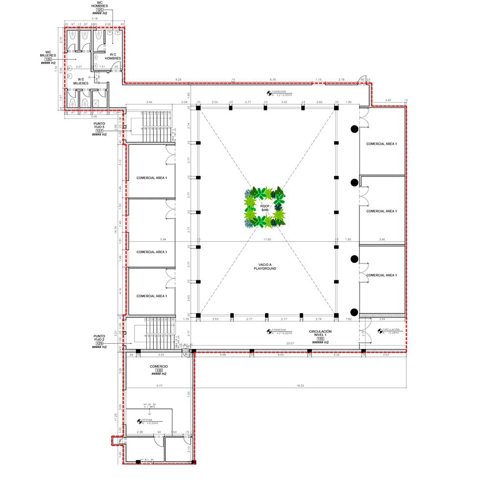 Diseño hotel selina