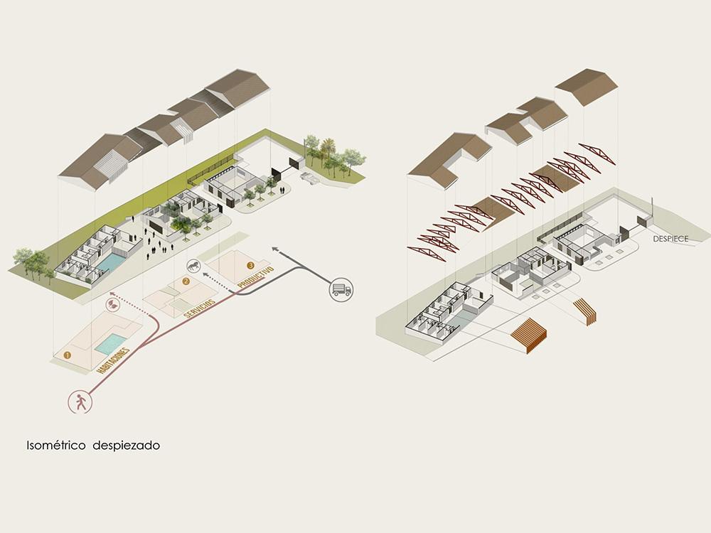 Despiece proyecto arquitectura