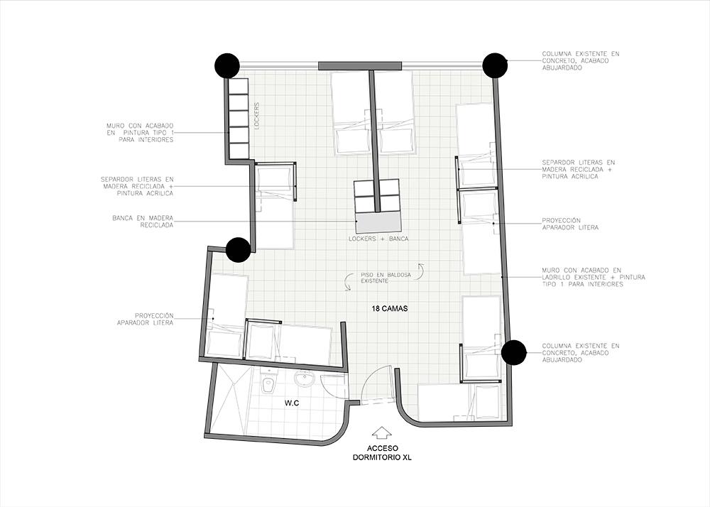 arquitectura dormitorio