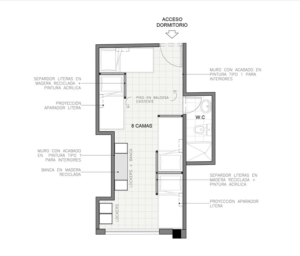arquitectura en hostelería