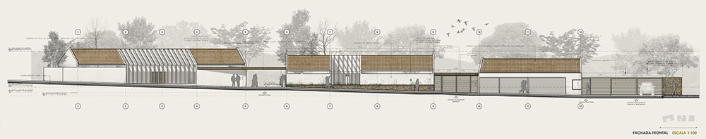 Plano fachada del proyecto