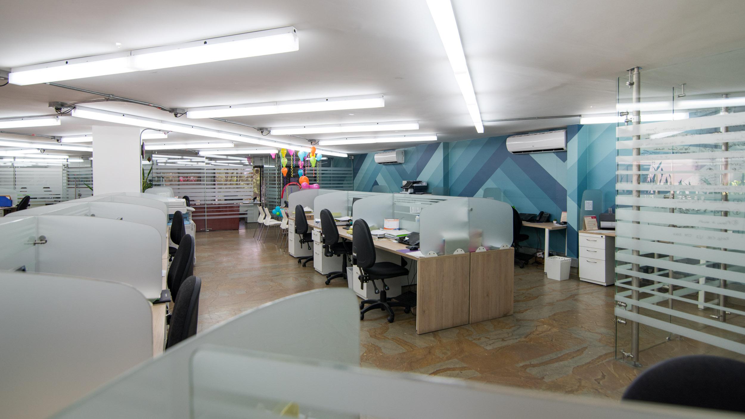 diseño de oficinas en Medellín