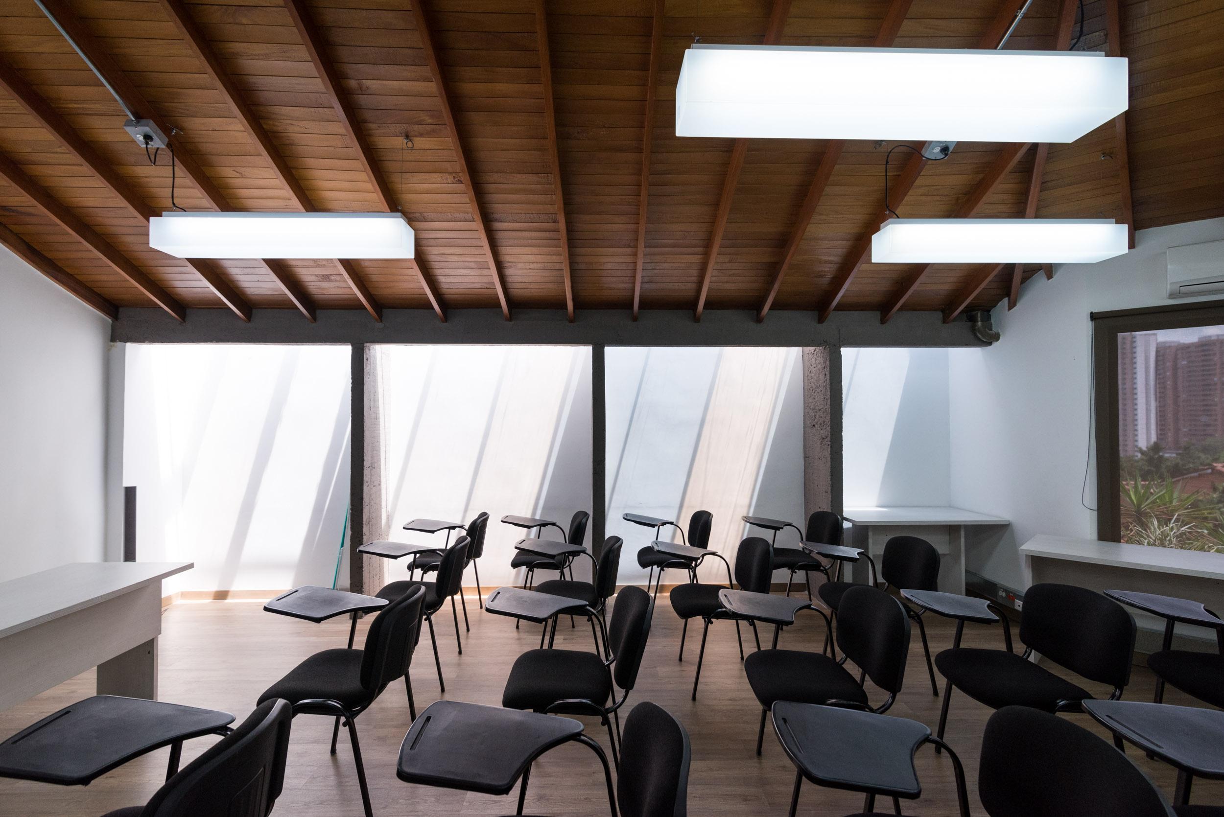 diseño de sala de exposiciones