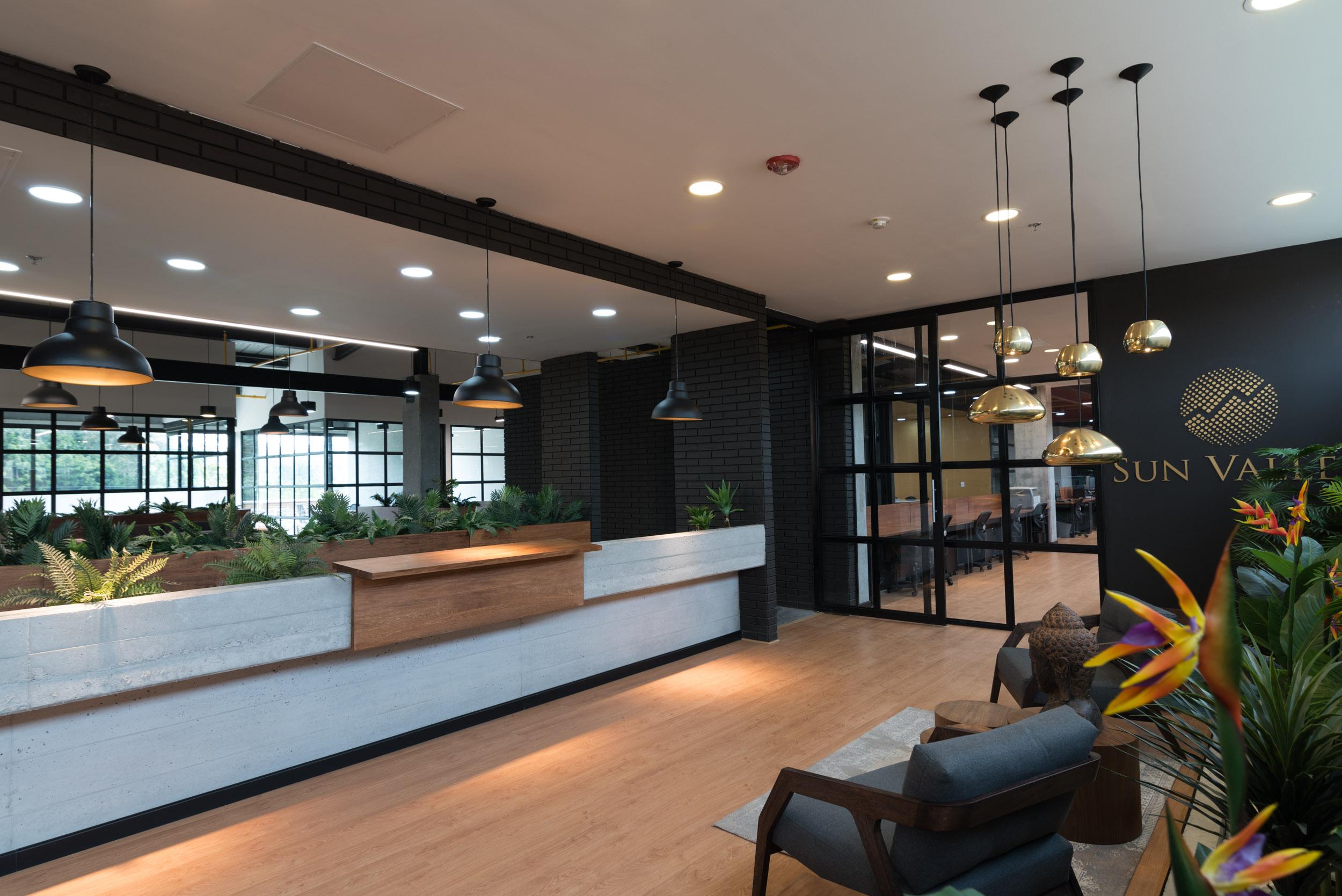 Diseño de interiores entrada