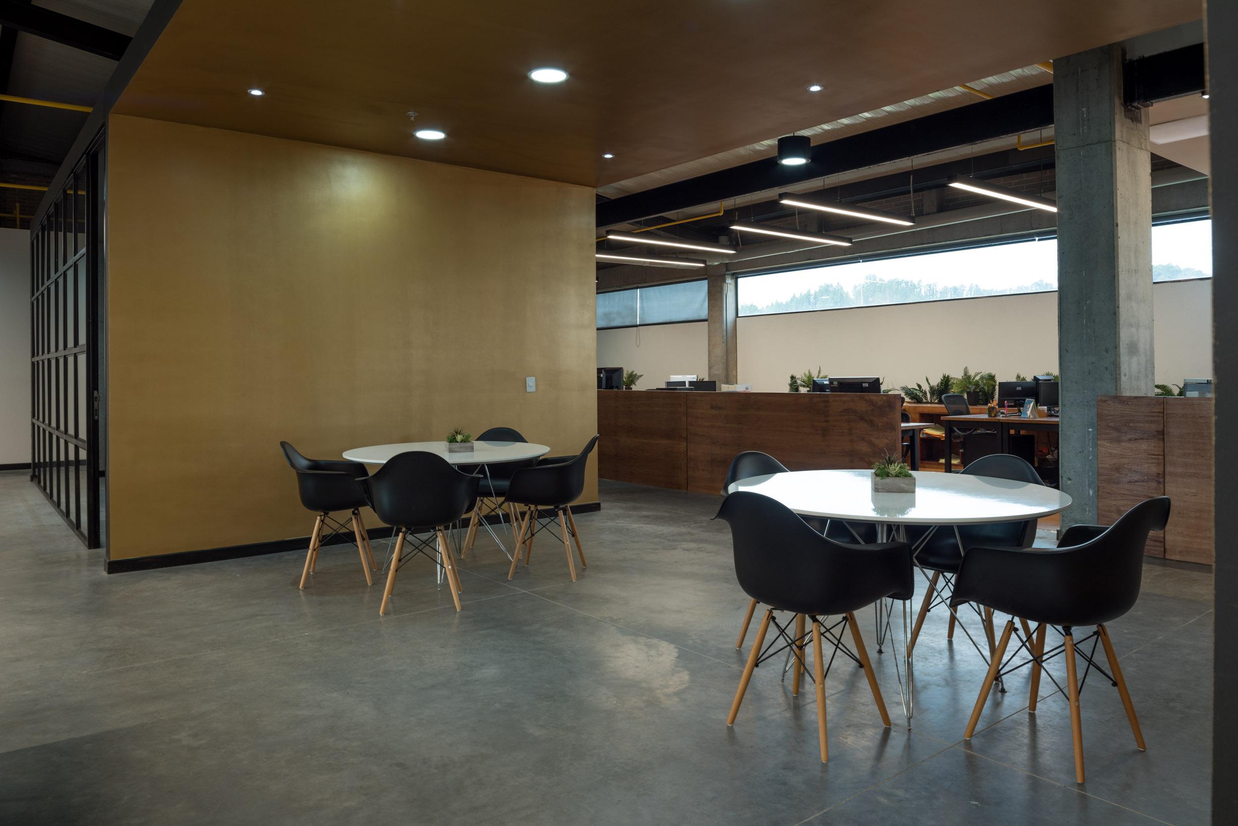 Diseño de interiores coworking