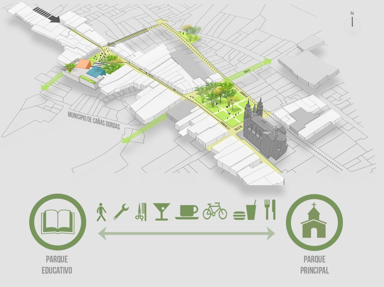 Construcción de espacios públicos