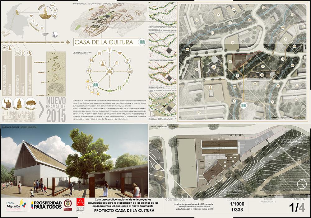 Proyecto Casa de la Cultura Gramalote
