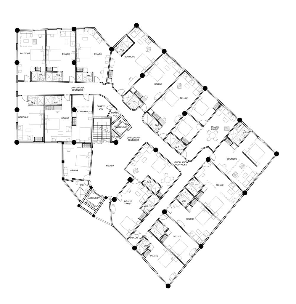 plano planta nivel