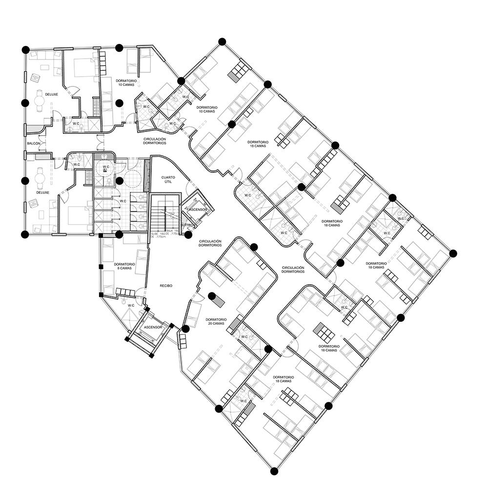 proyecto hotel selina