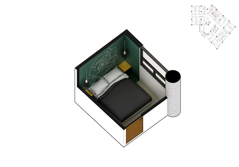 Plano de dormitorio