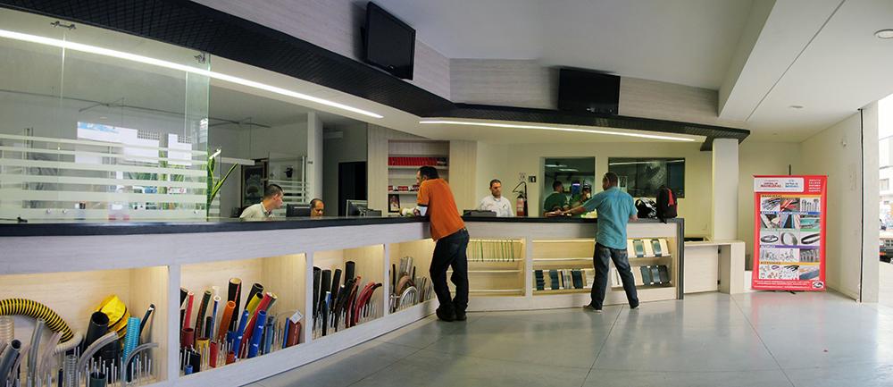 Diseño de espacios comerciales en Medellín