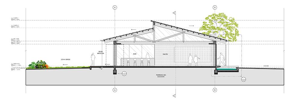 Proyecto Salón Casa Rosa
