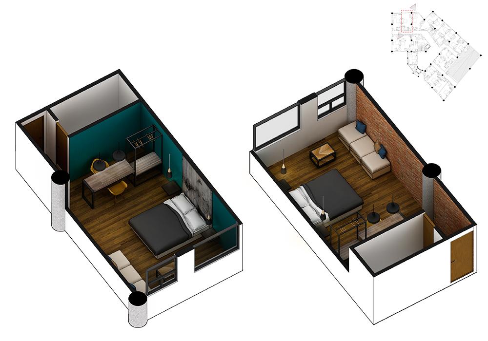 plano de dormitorios